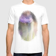 Field Appeal MEDIUM White Mens Fitted Tee