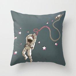 Hangstronaut Throw Pillow