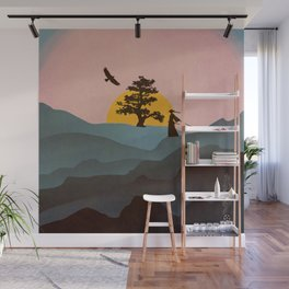 Nature Love Of A Peacful Warrior Wall Mural