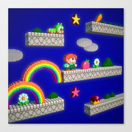 Inside Rainbow Islands Canvas Print