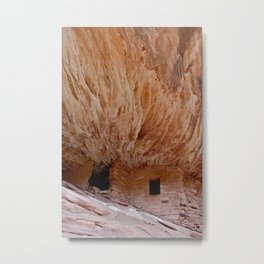 House on Fire, Mule Canyon Metal Print