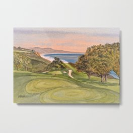 Torrey Pines South Golf Course Hole 6 Metal Print
