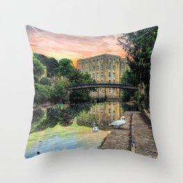 Dream City Throw Pillow