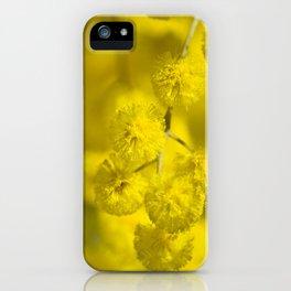 Acacia Macro iPhone Case