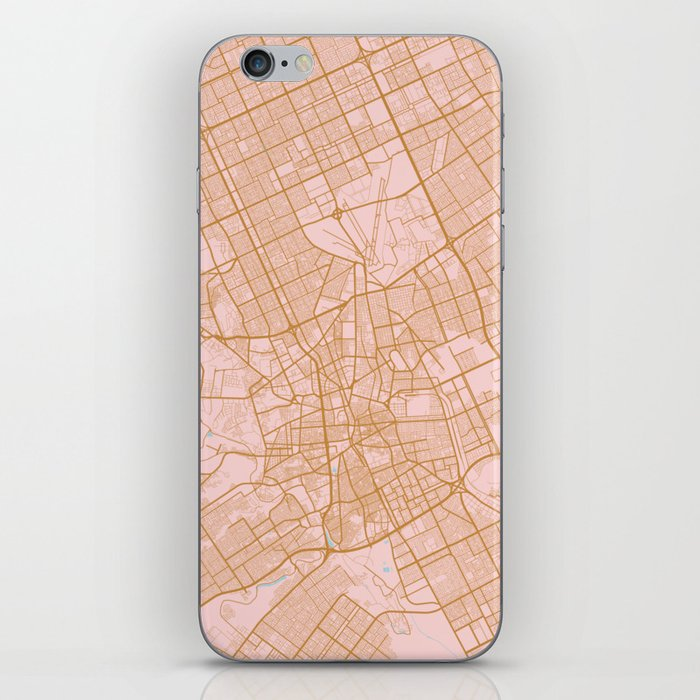 Riyadh map, Saudi Arabia iPhone Skin