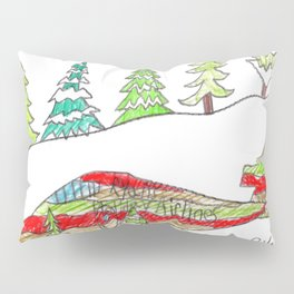 Holiday Airlines Pillow Sham