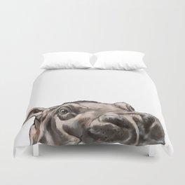 Peeking Baby Hippo Duvet Cover