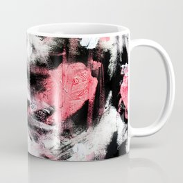 Red birds upon snowy branches Coffee Mug