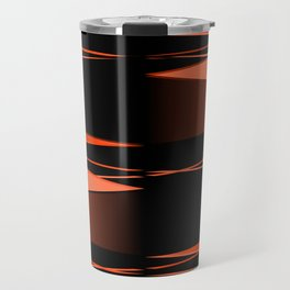 Black and red Travel Mug