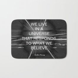 We Live In A Universe Quote - Society6 - Art - Luxury - Comforter - Bedding - Throw Pillows - Laptop Bath Mat
