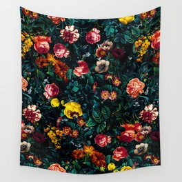 Night Garden XXX Wall Tapestry