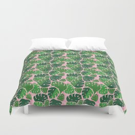 Monstera Bash Duvet Cover