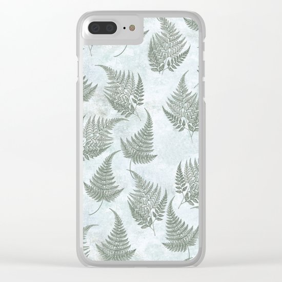 Fern Fever version 2 Clear iPhone Case