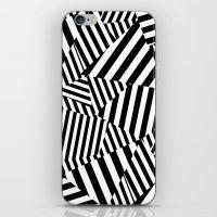 vertigo iPhone & iPod Skins featuring Vertigo by Y A Y