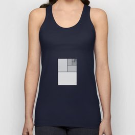 Fibonacci Blocks Unisex Tank Top