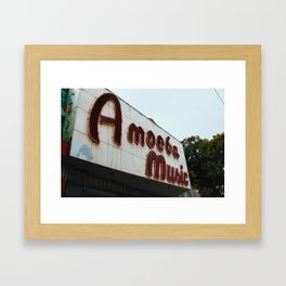 Amoeba Framed Art Print