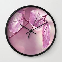 Pink 100 Wall Clock