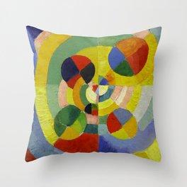 """Robert Delaunay """"Circular Forms"""" (detail) Throw Pillow"""