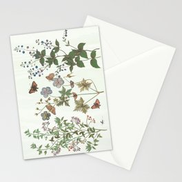The fragility of living - botanical illustration Stationery Cards