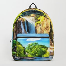 Paterson Great Falls in National Historical Park Backpack