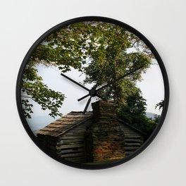 Abandoned Home Wall Clock