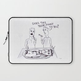 Having a Clown for Dinner Laptop Sleeve