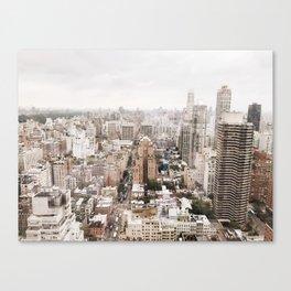 Rosy New York Canvas Print