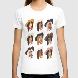 Multi Culture Cowgirl T-shirt