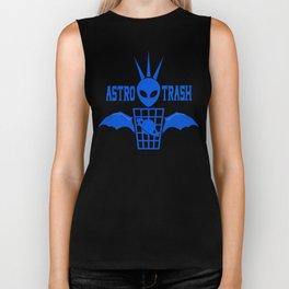 Alien Bat Trash Biker Tank