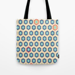 Digital Honeycomb Tote Bag