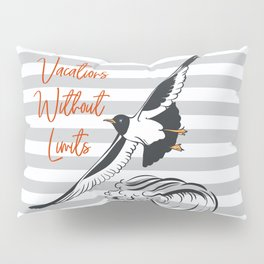 Sea adventure. Vacations without limits Pillow Sham