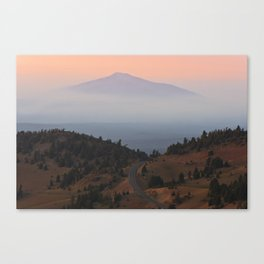 Sunset Mountain Canvas Print