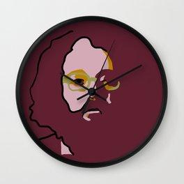 Allen Ginsberg Wall Clock