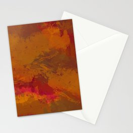 Fall Fury Stationery Cards