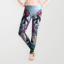 Neon Moon Tarot Leggings