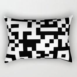 QR Code Rectangular Pillow