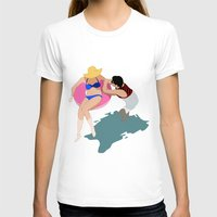 pool T-shirts featuring Pool by ministryofpixel