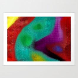 alucinogeno Art Print