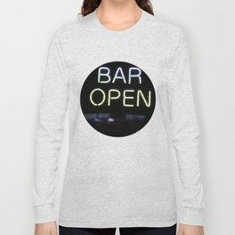 Bar Open Long Sleeve T-shirt