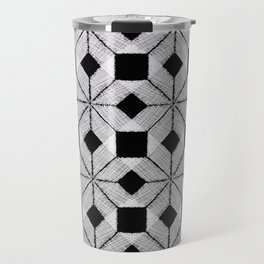 Silver Snow Travel Mug