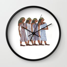 Egyptians Wall Clock