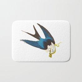 Swallow-tailed Hawk Bath Mat