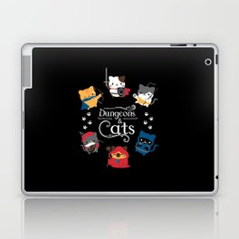 Dungeons And Cats Laptop & iPad Skin