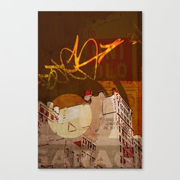 NYC Rooftops Canvas Print