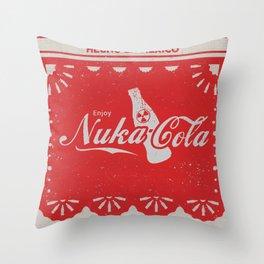 An Ice Cold Nuka Cola - Fallout Universe Throw Pillow