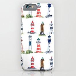 Swedish lighthouses iPhone Case