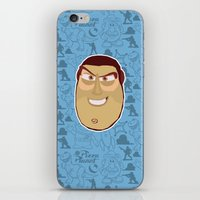 toy story iPhone & iPod Skins featuring Buzz Lightyear - Toy Story by Kuki