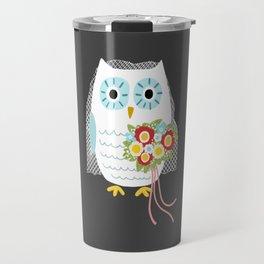 Owl Bride Travel Mug