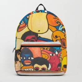 abstract art artistic artwork Backpack