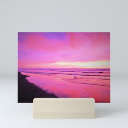 Getting Into the Sunset Pinks by Reay of Light Mini Art Print